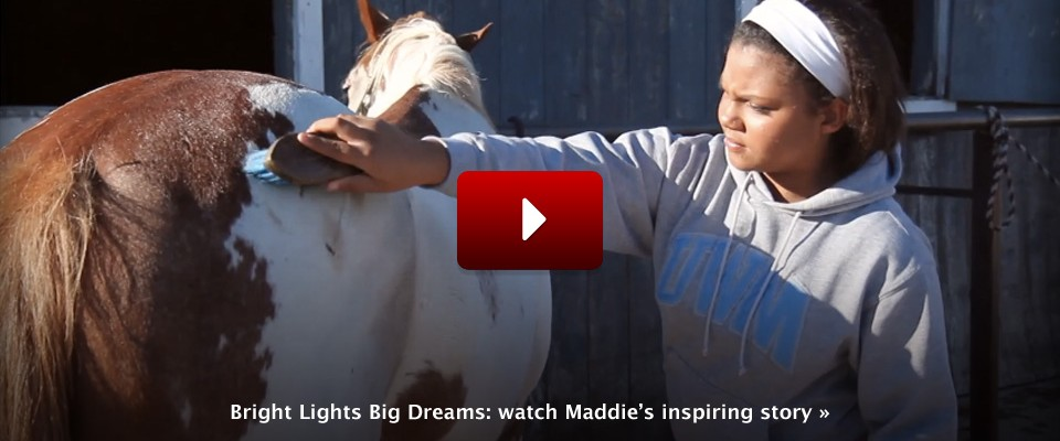 Bright Lights Big Dreams: Maddie's inspiring story